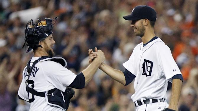 Porcello gets another shutout, Tigers beat A's 3-0