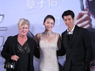 Zhang Ziyi has fun playing and kissing Leehom