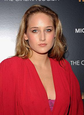 Leelee Sobieski at the New York City premiere of Paramount Pictures' Iron Man