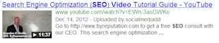 Video SEO: Focus on Self Hosted Videos Rather Than YouTube image video snippet google