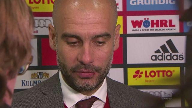 Guardiola pleased with Bayern's attitude.