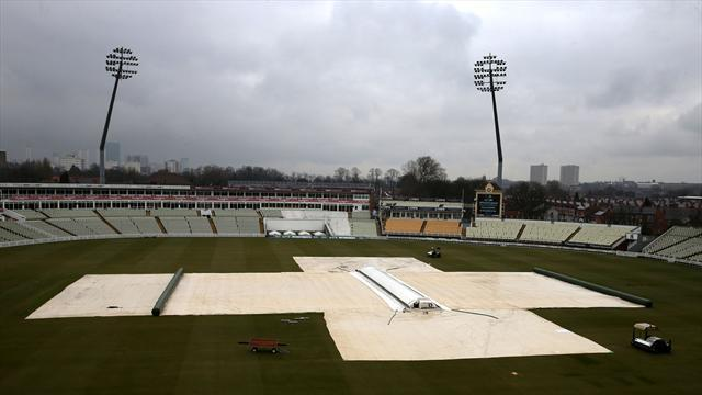 Cricket - No play before lunch at Edgbaston