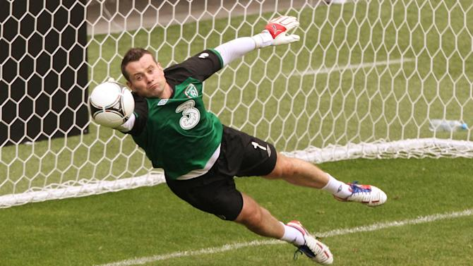 Goalkeeper Shay Given is one of several senior players left out