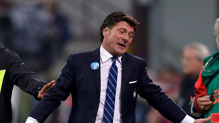 Mazzarri rues Inter's bad luck
