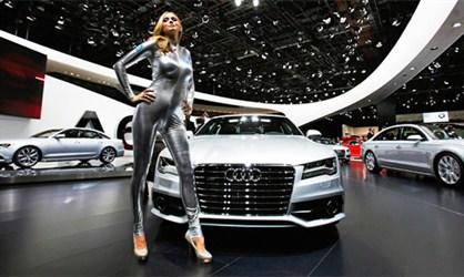 Ladies of the Detroit Auto Show