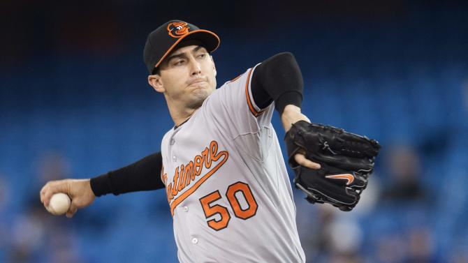 Orioles allow 3 homers, fall to Blue Jays, 9-3