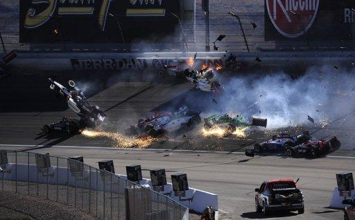 Drivers had voiced concern about the high speeds being reached at Las Vegas