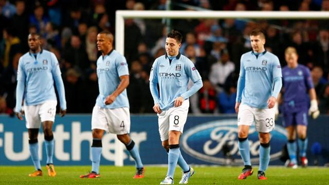 Champions League - Man City seek crumbs of comfort in Dortmund
