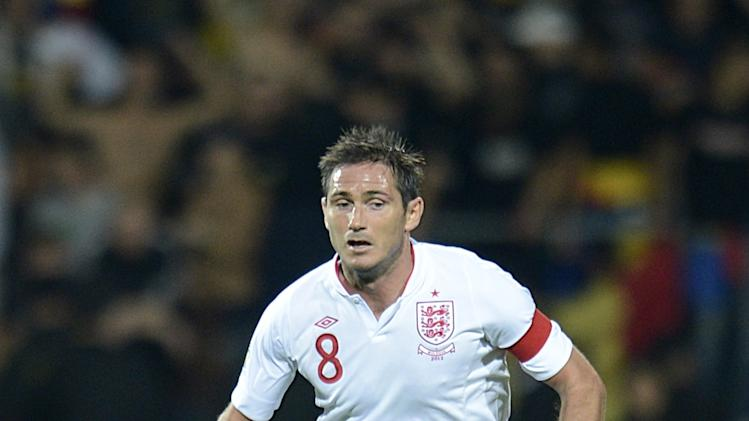 Frank Lampard, pictured, and Ryan Bertrand have pulled out of England's squad ahead of the game against San Marino