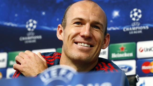 Bundesliga - Robben signs new Bayern Munich contract