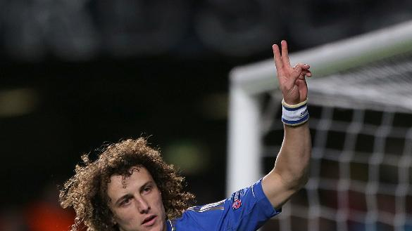 David Luiz believes his energy makes him a prime candidate for a midfield berth