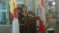 Leona Aglukkaq, the MP for Nunavut, made the announcement in Iqaluit Thursday afternoon.