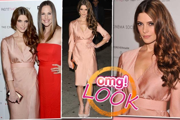Ashley Greene in einem Traum aus Seide (Bilder: WENN, Getty images)