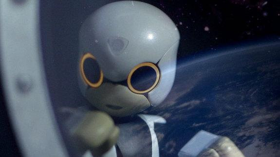 Kirobo will take part in the first robot-to-human conversation with veteran Japanese astronaut Koichi Wakata when they are both onboard the space station in December 2013. Kirobo will launch on Aug. 4, 2013. Image posted June 27, 2013.