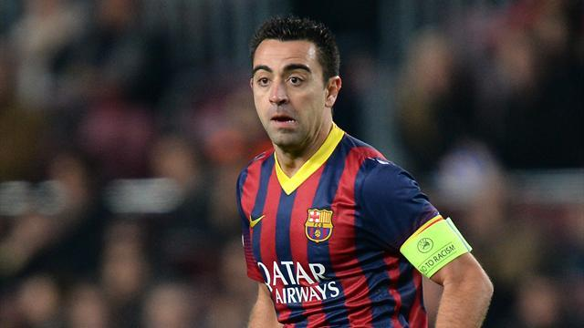 Liga - New York Red Bulls 'make Xavi approach'
