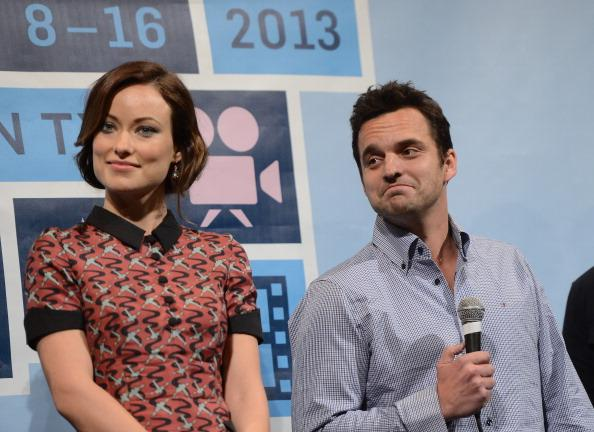 Olivia Wilde and Jake Johnson