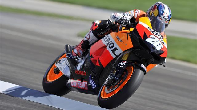 Pedrosa cruises to victory in Indianapolis