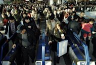 South Koreans commuters proceed to their trains at a railway station in Seoul in 2007. A rapidly ageing population and a widening income gap pose long-term challenges to South Korea despite its decade of strong growth, the OECD said Thursday