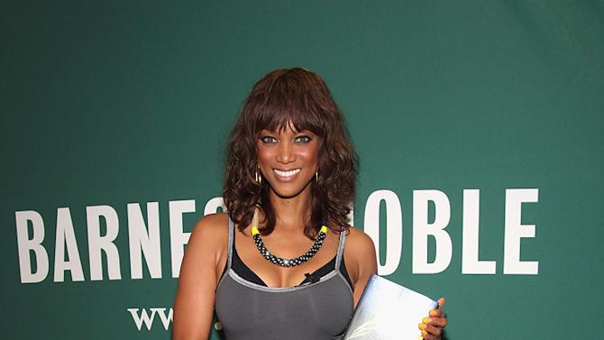 Tyra Banks Book Tour