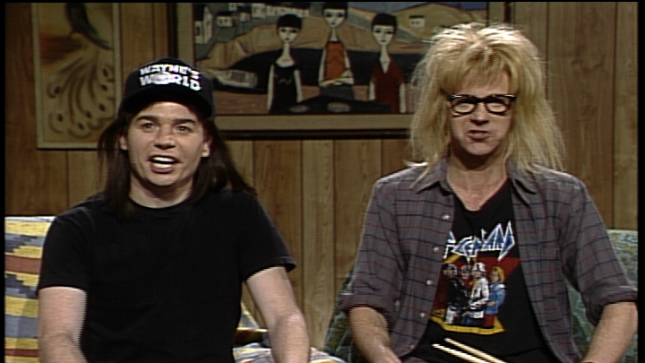 Wayne's World Cold Opening: Politics