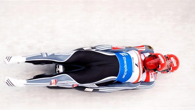 Luge - Eggert and Benecken round off World Cup with double gold
