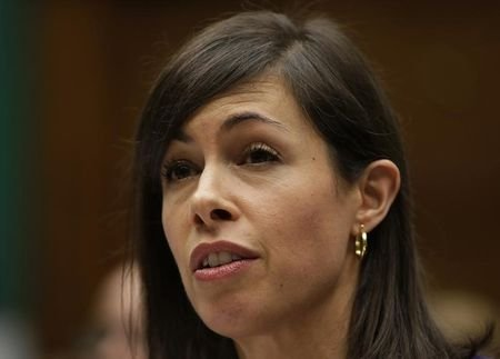 FCC Commissioner Jessica Rosenworcel testifies before the House Communications and Technology panel on Capitol Hill in Washington December 12, 2013. REUTERS/Gary Cameron