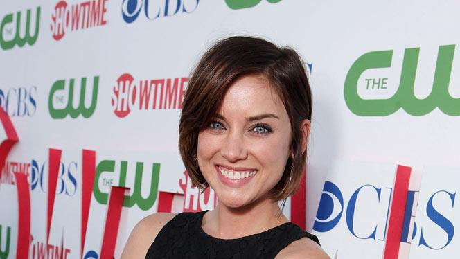 """Jessica Stroup of """"90210"""" attends the CBS, The CW, and Showtime 2011 Summer TCA Party at The Pagoda on August 3, 2011 in Beverly Hills, California."""