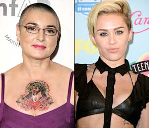 Sinead O'Connor Threates to Sue Miley Cyrus After Miley Asks to Meet Amid Feud