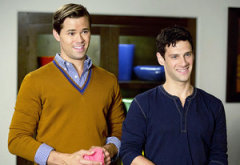 Andrew Rannells and Justin Bartha  | Photo Credits: Justin Lubin/NBC
