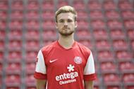 Mainz defender Jan Kirchhoff poses for photographers during the club's offical pre-season photo session in the western German city of Mainz on July 5, 2011. Bayern Munich have signed Kirchhoff from Mainz, with the German defender to join up with the Bundesliga giants at the end of the season, sporting director Matthias Sammer said Friday