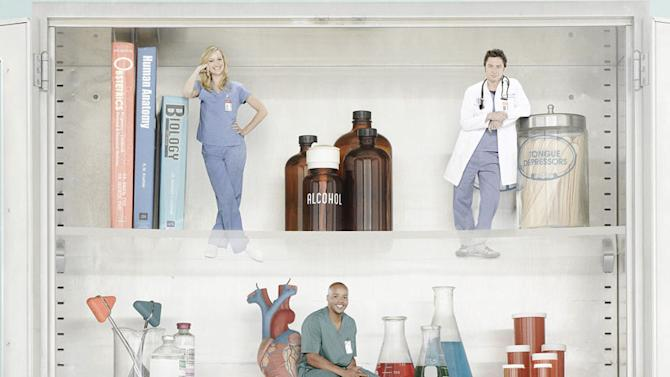 """The cast of """"Scrubs."""""""