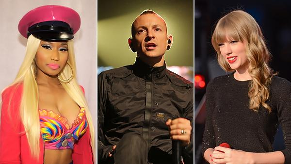 Taylor Swift, Nicki Minaj, Linkin Park To Perform at American Music Awards