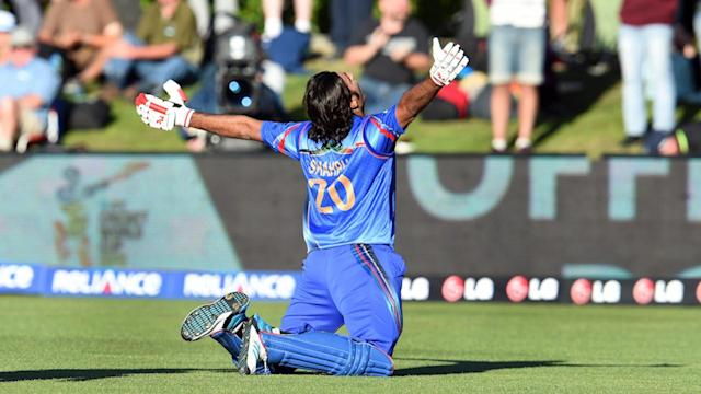 Afghanistan Celebrates First Cricket World Cup Win