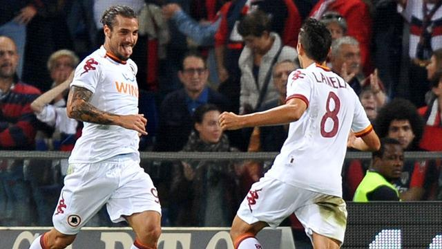 Italian Serie A - Roma come from two down to beat Genoa 4-2