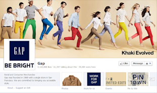 6 Reasons Why Your Company's Facebook Page is Unattractive image gap facebook