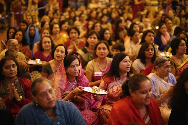 Diwali And Annakut Are Celebrated At The BAPS Shri Swaminarayan Mandir In Neasden