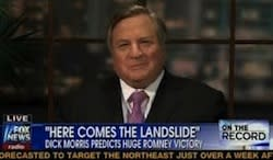 "UPDATE: Dick Morris Says Fox News Fired Him ""For Being Wrong"""