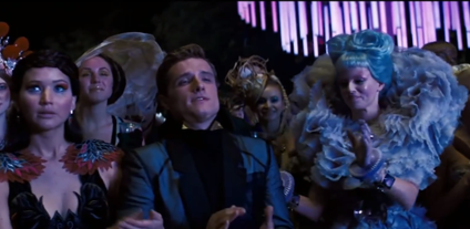 A scene from 'Hunger Games: Catching Fire'