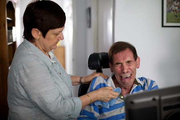 Tony Nicklinson, 58, who suffered from locked-in syndrome, died in August a week after losing a legal bid to end his life with a doctor's help. Mr Nicklinson suffered a stroke in 2005 and was para