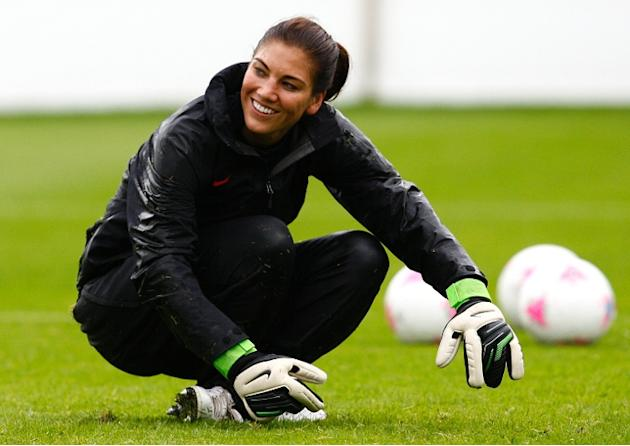 U.S. Soccer suspends goalkeeper Hope Solo