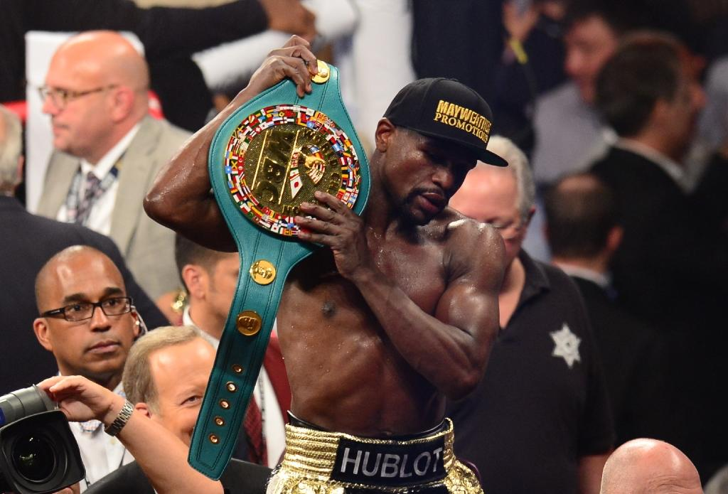Mayweather pockets $100 mn after beating Pacquiao