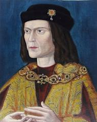 Portrait of Richard III of England, painted c. 1520.