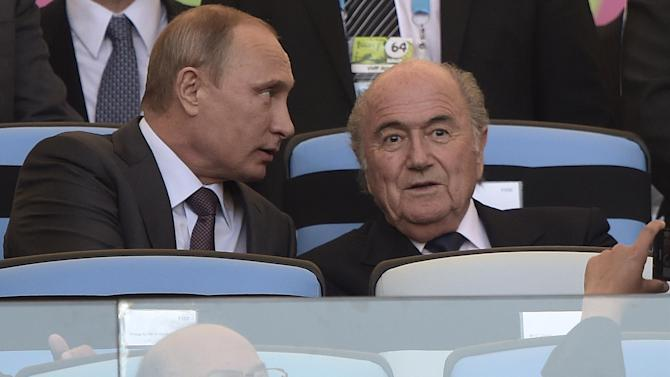 Football - FIFA crisis: Putin backs Blatter, accuses USA of meddling