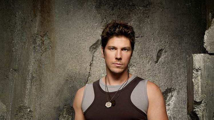 Michael Trucco as Sam Anders in Battlestar Galactica on the Sci Fi Channel.