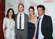 Alyson Hannigan, Neil Patrick Harris, Cobie Smulders, Josh Radnor of CBS's 'How I Met Your Mother' -- Getty Images