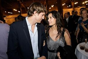 Ashton Kutcher and Demi Moore, 2008