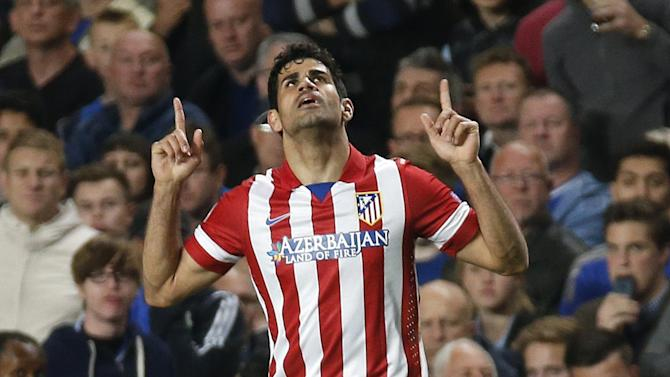 Premier League - Spain forward Costa says poised to join Chelsea