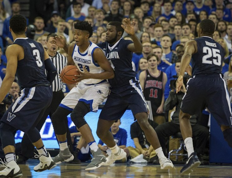 Villanova and Creighton both entered their showdown with unbeaten records (AP)