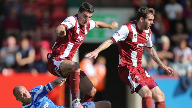 Soccer - Sky Bet Football League Two - Cheltenham Town v Portsmouth - Abbey Business Stadium