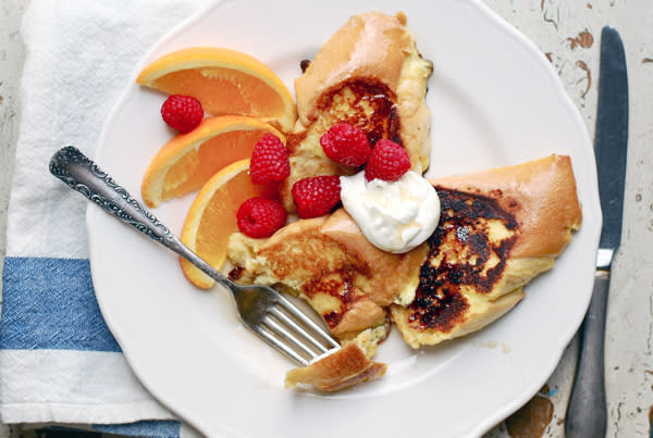 Sour Cream French Toast with Oranges